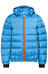 Bergans Down Jacket Kids Light Sea Blue/Koi Orange